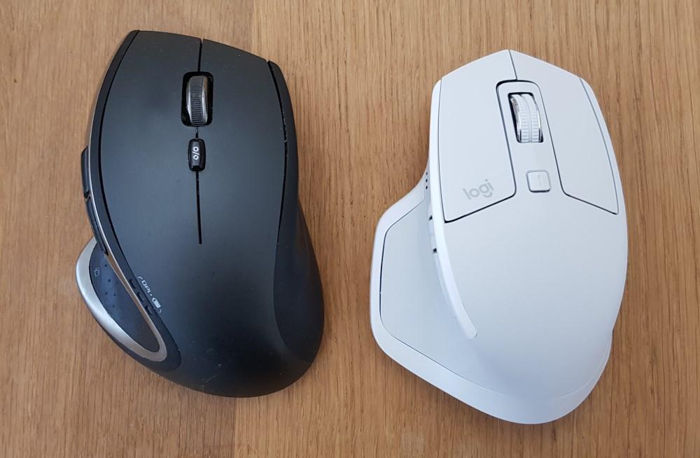 Vergleich der MX Master 2S mit dem Vorgängermodell