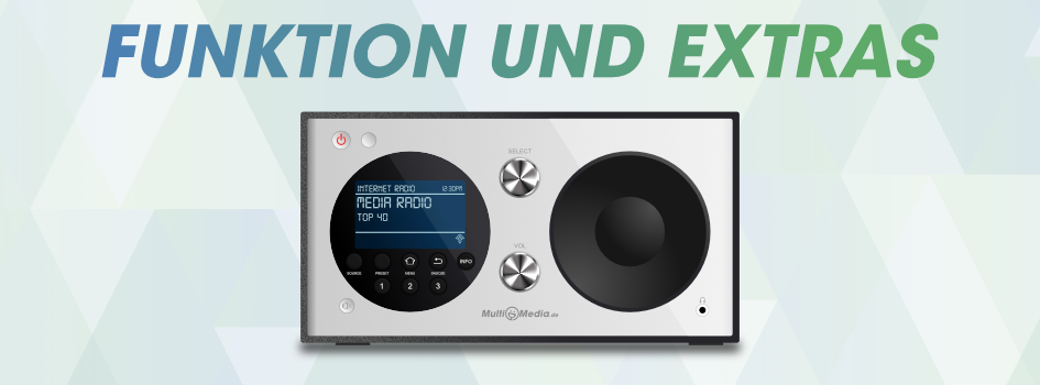 Internetradio Funktionen