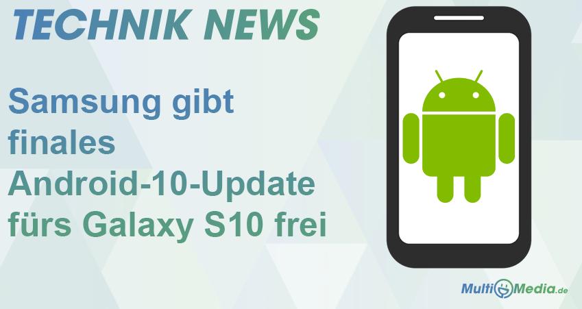 Android-10-Update fürs Galaxy S10