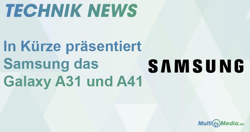 samsung a31 und a41