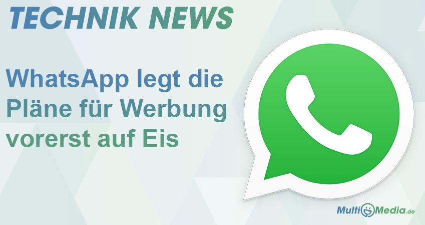whatsapp legt plaene auf eis